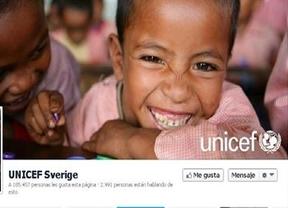 Unicef arremente contra facebook: los 'Me Gusta'