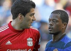 Los inventores del fútbol dan ejemplo: la Federación inglesa sanciona con 8 partidos a Suárez por insultos racistas a Evra