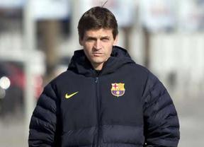 Tito Vilanova se recupera a pasos agigantados: este miércoles presenció el entrenamiento del Barça