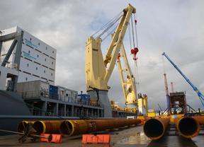Iberdrola comienza los ensayos de los pilotes de su proyecto eólico marino alemán de Wikinger