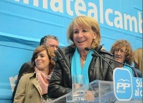 Aguirre, como sus 'amigos' del 15-M, pide eliminar las subvenciones a partidos, sindicatos y patronales