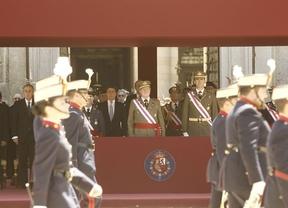 El Rey se despide este domingo de los Ejércitos junto a la Reina y los Príncipes en su último Día de las Fuerzas Armadas
