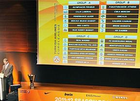 La diosa Fortuna se visitó de blanco en el sorteo de la Euroliga: fácil para el Madrid, complicado para el Barça