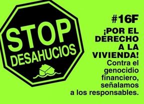 16-F: manifestaciones de la Plataforma de Afectados por la Hipoteca