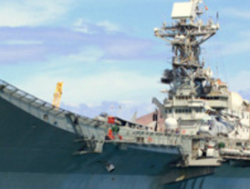 La Fuerza Naval de Respuesta Inmediata de la OTAN realiza un ejercicio marítimo en las costas del sureste español