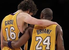 El desastre de los Lakers llega al vestuario: Kobe exige a Gasol
