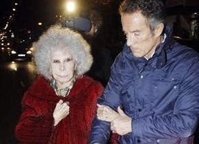 La duquesa de Alba y Alfonso Díez pasan sus primeras navidades como marido y mujer