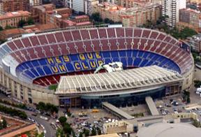 El Camp Nou pide la independencia de Cataluña en 'prime time'