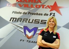La piloto de Fórmula 1 María de Villota está