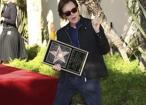 Paul McCartney ya tiene su estrella en el Paseo de la Fama de Hollywood