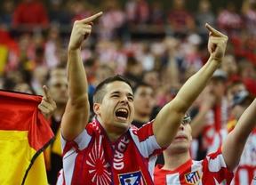 Día de fiesta y celebración atlética en un Madrid que se viste de rojiblanco 'europeo'