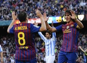 'Champions': el Barça se 'refuerza' con Iniesta y Puyol para visitar Lisboa, donde nunca ha ganado