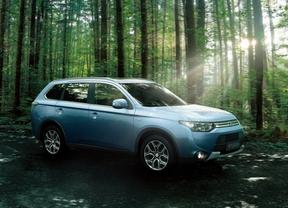 Mitsubishi presenta novedades en el Outlander PHEV