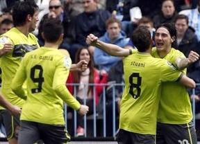 El Espanyol trae de vuelta a la realidad a un Málaga 'europeizado' (0-2)