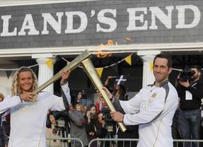 La antorcha olímpica se apaga apenas 3 días después de haber comenzado su 'gira' por Reino Unido