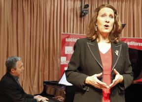 La soprano Elisa Belmonte recupera canciones líricas de grandes poetas y compositores españoles
