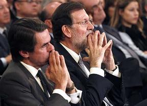 Rajoy defiende su gestión ante Aznar y avisa de que no se pueden hacer balances hasta el final