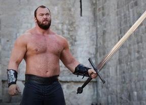 'La Montaña' Hafthor Bjornsson, un actor con poder: declarado el hombre más fuerte de Europa