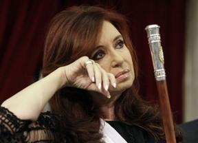 La presidenta argentina, Cristina Fernández, de baja por un cáncer de tiroides