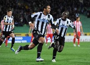 El Atleti va tomando otra vez forma de 'pupas': 5 minutos de horror le condenan frente al Udinese (2-0)