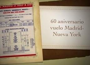 Iberia, 60 años volando de Madrid a Nueva York