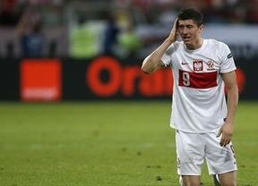 Eurocopa 2012. La anfitriona Polonia cae ante Chequia, que se mete en cuartos, y queda eliminada (1-0)