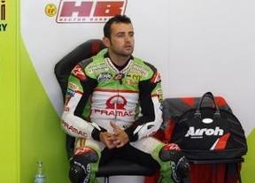Y sólo tres semanas después de su grave lesión, Héctor Barberá vuelve a los circuitos