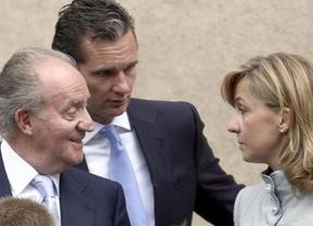 Inesperado encuentro entre el rey Juan Carlos y su hija la infanta Cristina en Barcelona