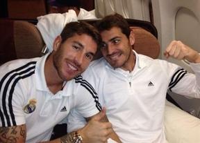 Casillas sufre una contusión costal tras el choque con Sergio Ramos