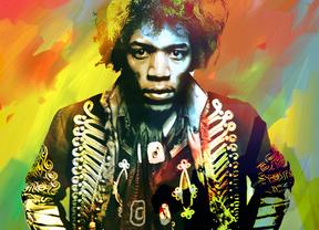 Jimi Hendrix elegido mejor guitarrista de todos los tiempos