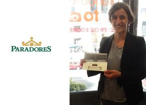 Sara Lázaro, ganadora en abril de las dos noches en Paradores que sortea Ociocrítico con motivo de su décimo aniversario