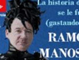 CCOO presenta una demanda en el Juzgado contra Gobierno regional por retirar pegatinas de 'Ramón Luis Manostijeras'