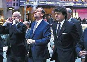 El puro de Rajoy en Nueva York genera una polémica