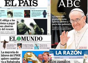Resumen de prensa: El corralito chipriota y el Papa de una iglesia pobre