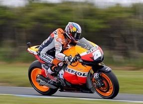 GP de Valencia: Pedrosa se lleva la 'pole' y el récord del circuito