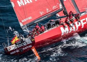 Volvo Ocean Race: Xabi Fernández y su 'Mapfre' cumplen y marchan en segunda posición