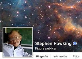 Stephen Hawking comparte su conocimiento en Facebook