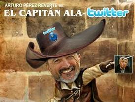 Pérez Reverte, el 'Capitán Ala Twitter' que no se cansa... de insultar