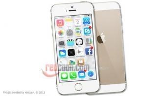 redcoon.es se adelanta a Apple y expone el último modelo de iPhone 5s dorado en su Showroom
