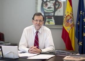 Rajoy se graba en vídeo para valorar la encuesta de la EPA: