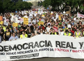 5 meses después del 15-M: una marea de 'indignados' se apodera de Madrid
