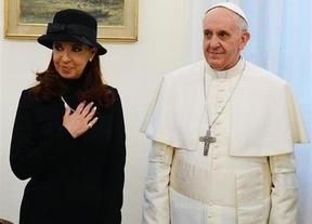Los motivos por los que Cristina Fernández indignó en su visita al Papa Francisco
