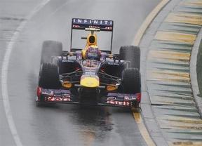 Los Red Bull siguen con estrella: la lluvia se alía con ellos y obliga a suspender la calificación
