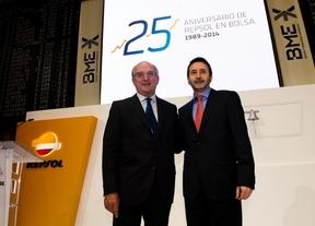 Repsol celebra sus 25 años en Bolsa