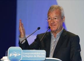 Valcárcel también 'a la contra' de Cospedal con el sueldo de los diputados regionales