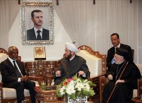 Kofi Annan-Al Assad, segundo asalto: el 'mediador', optimista y con posibilidades alcanzar la paz en Siria