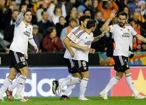 El Valencia pone fin a la racha de victorias del Real Madrid (2-1)