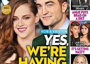 Kristen Stewart y Robert Pattinson podrían ser padres, como en la ficción: ¿será un vampirito?