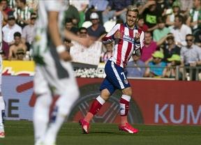 El 'Atleti' se reencuentra con la victoria mientras el Córdoba sigue camino del descenso