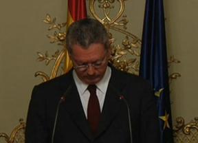 Reacciones a la dimisión de Gallardón: Sánchez habla de ministro